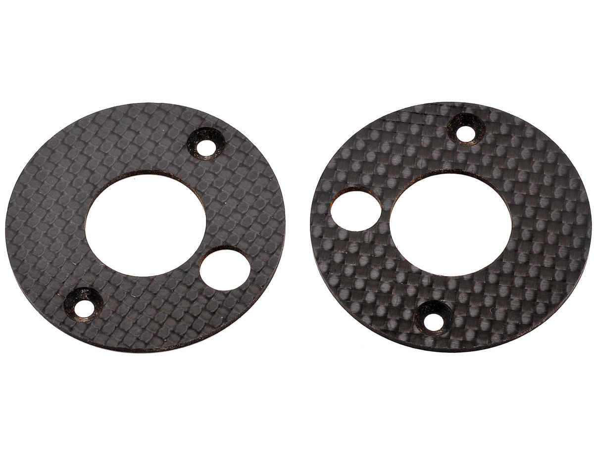 Mugen Seiki Graphite Front Upright Disc Set (2)