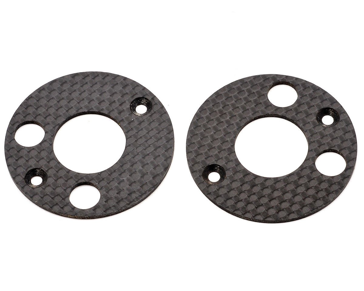 Mugen Seiki MTX5 Graphite Rear Upright Disc Set (2)