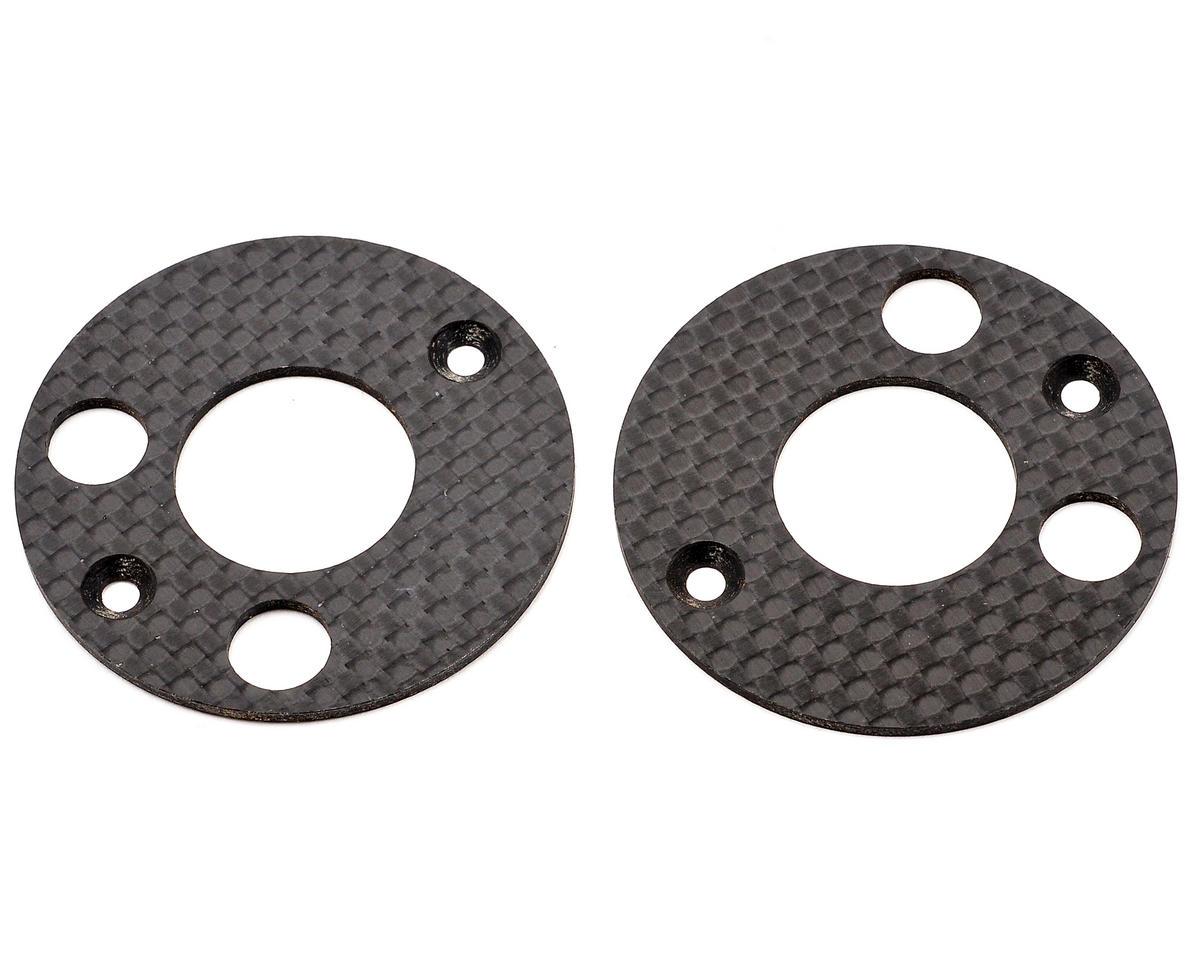 Mugen MTX6 Seiki Graphite Rear Upright Disc Set (2)