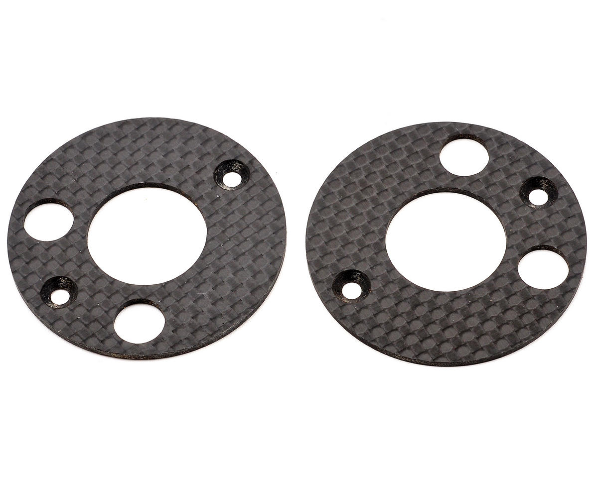 Mugen Seiki Graphite Rear Upright Disc Set (2)