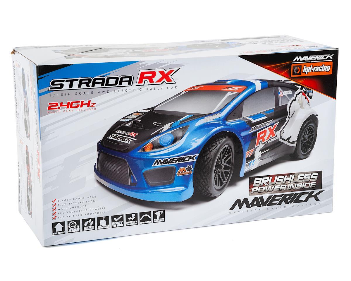 Maverick Strada RX 1/10 RTR 4WD Electric Rally Car