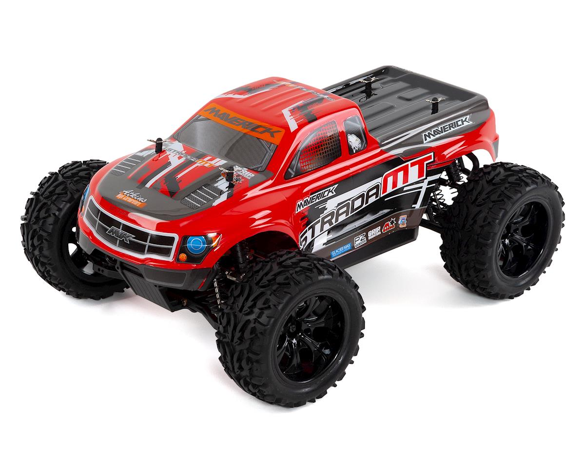 Strada Brushless MT 1/10 RTR 4WD Electric Monster Truck by Maverick