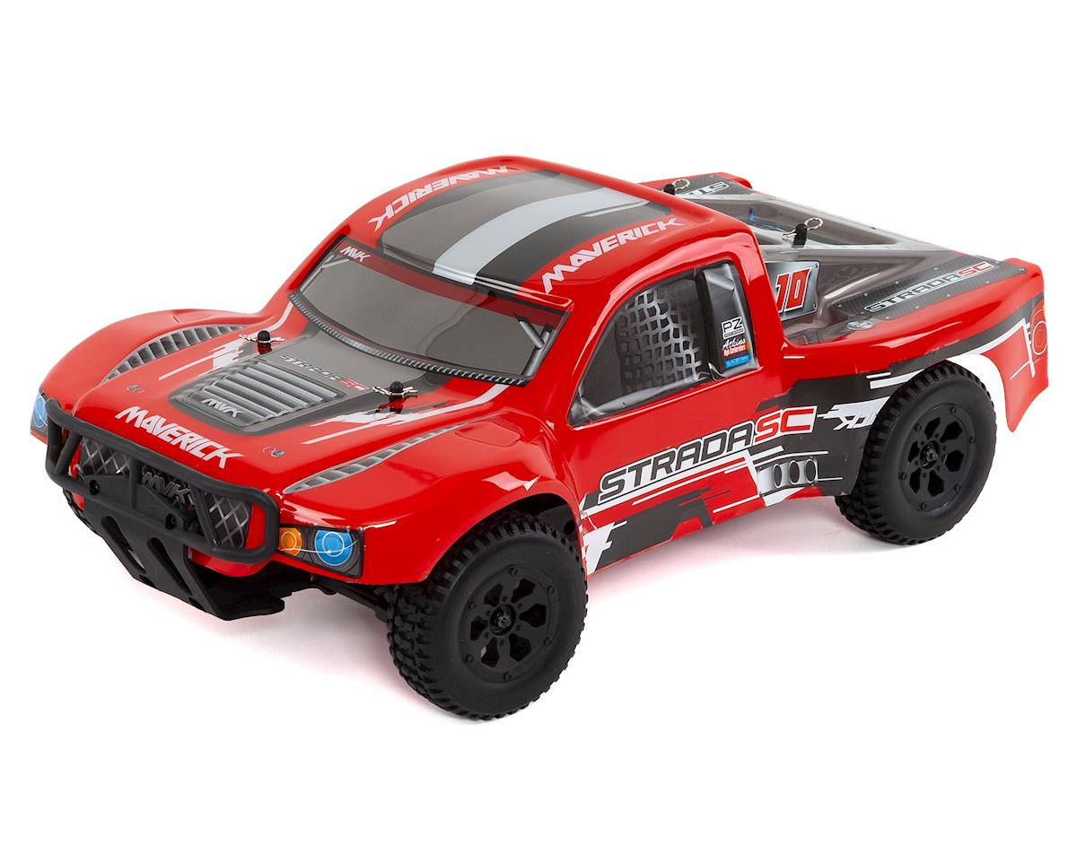 Strada Brushless SC 1/10 RTR 4WD Electric SC Truck by Maverick