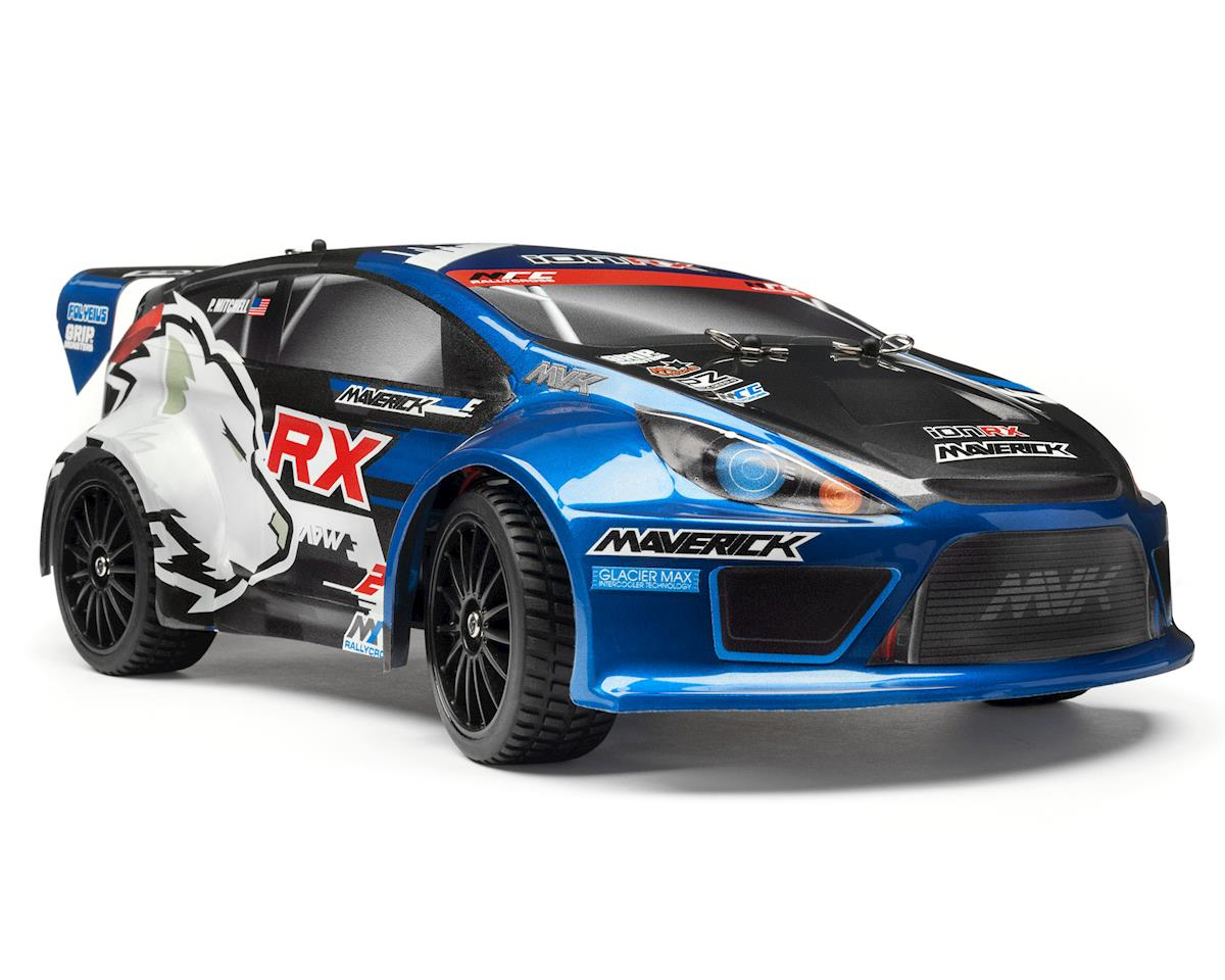 Maverick Ion RX 1/18 4WD Electric Rally Car [MVK12805] | Cars ...