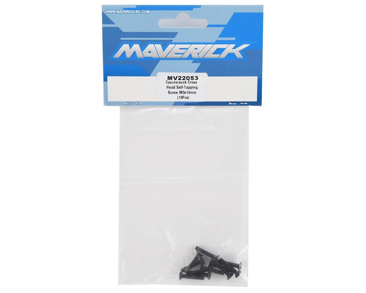 Maverick 3x14mm Self Tapping Countersunk Phillips Screw (13)