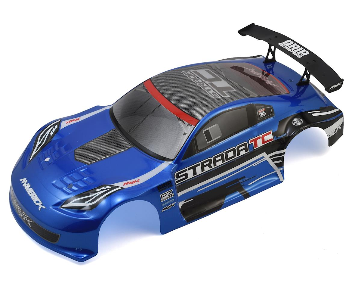 Strada TC 1/10 Pre-Painted Touring Car Body (Blue) by Maverick