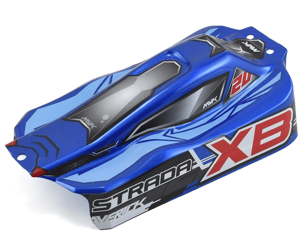 Maverick Strada XB Painted Buggy Body (Blue) (XB)