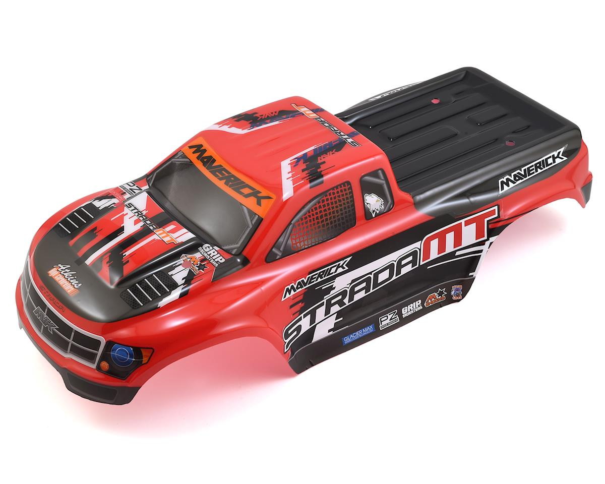 Strada MT Painted Monster Truck Body (Red) by Maverick