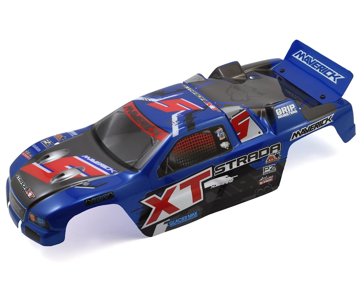 Maverick Strada XT 1/10 Painted Truggy Body (Blue)