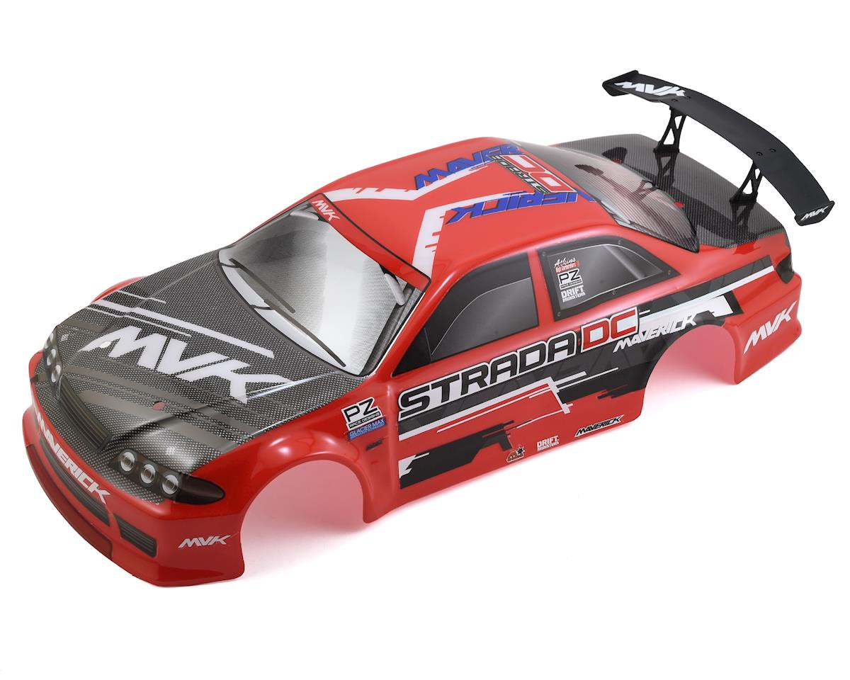 Maverick Strada DC Painted Drift Car Body (Red)