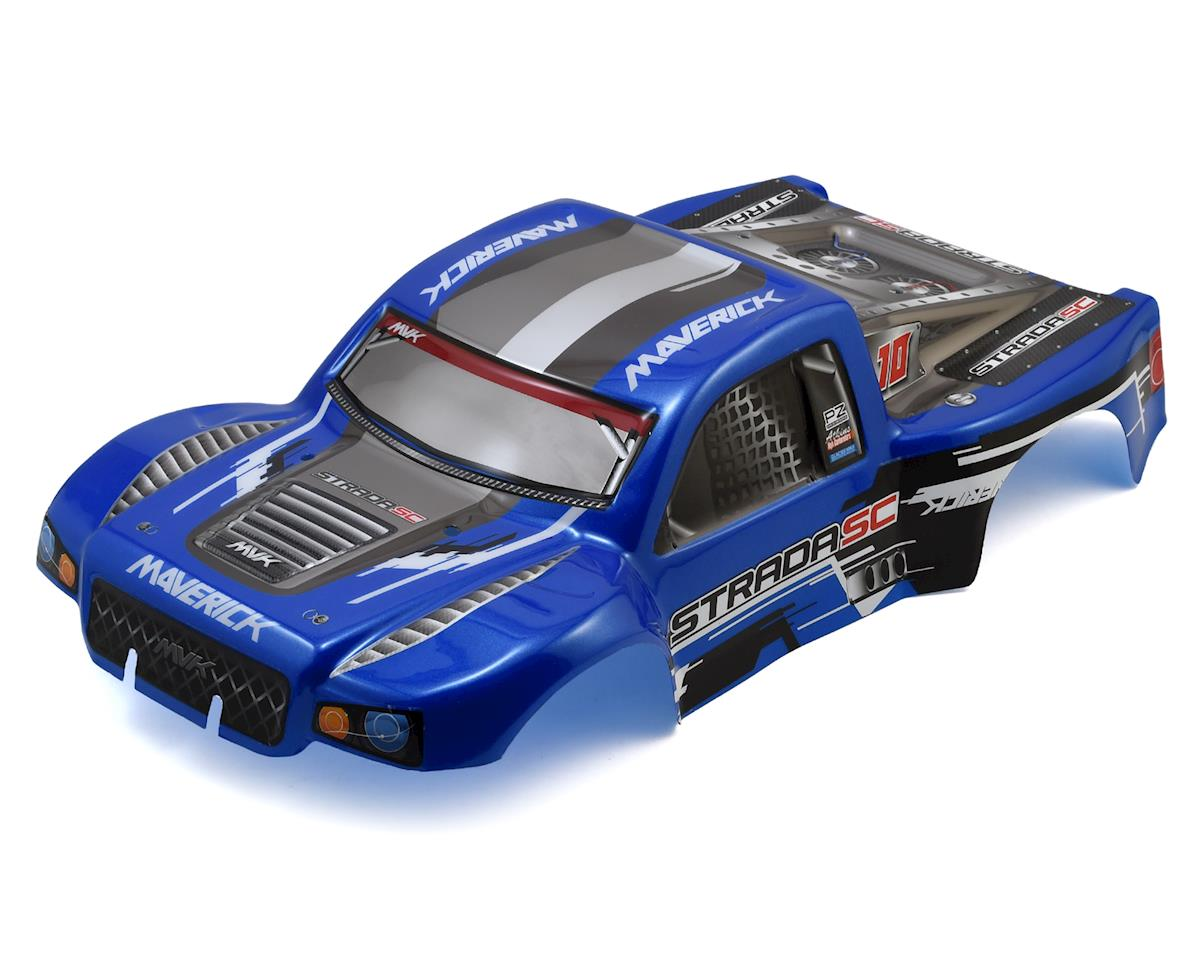 Strada SC Painted Short Course Truck Body (Blue) by Maverick