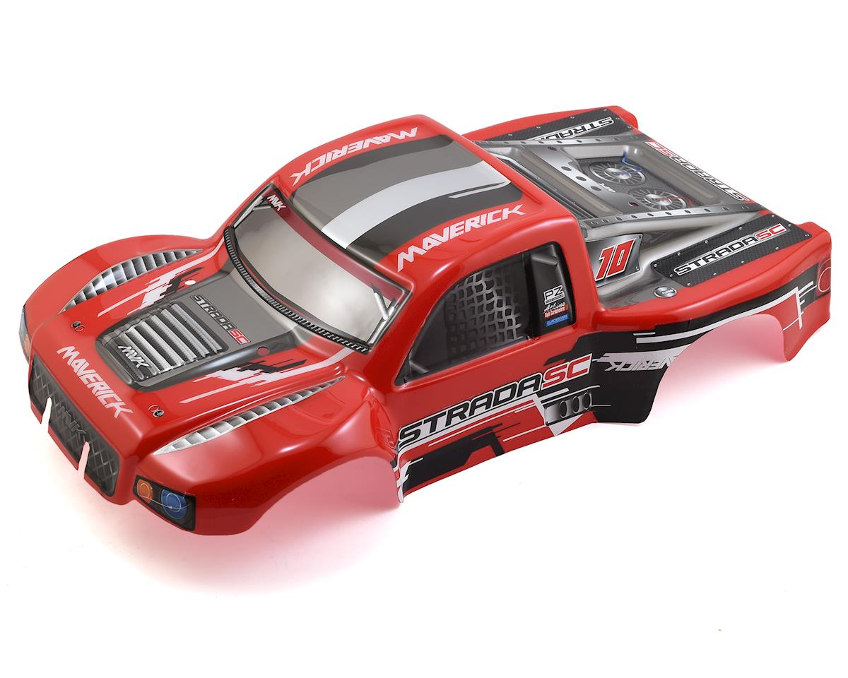 Maverick Strada SC Painted Short Course Truck Body (Red)
