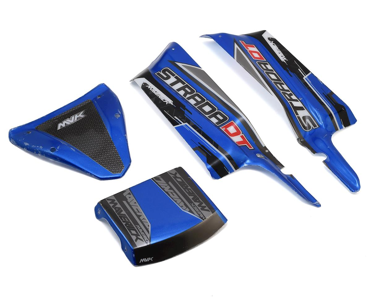 Maverick Strada DT Painted Desert Truck Body Panels (Blue)
