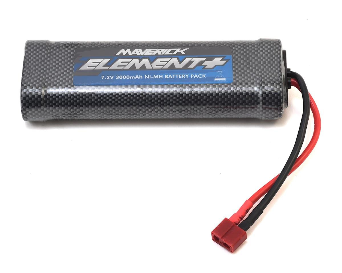Maverick 6-Cell MBP-26 NiMH Battery Pack w/T-Style Plug (7.2V/3000mAh)