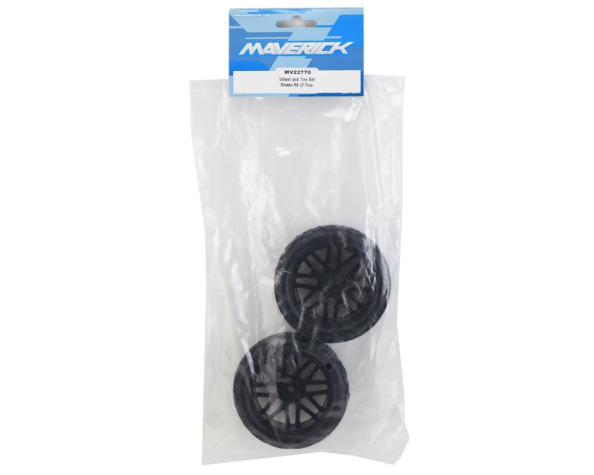 Maverick Strada RX Pre-Mounted Rally Wheel & Tire Set (2)
