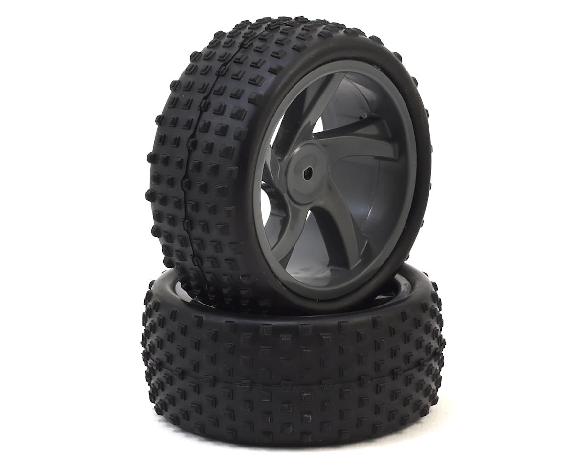ION XB Pre-Mounted 1/18 Buggy Tire (2) by Maverick