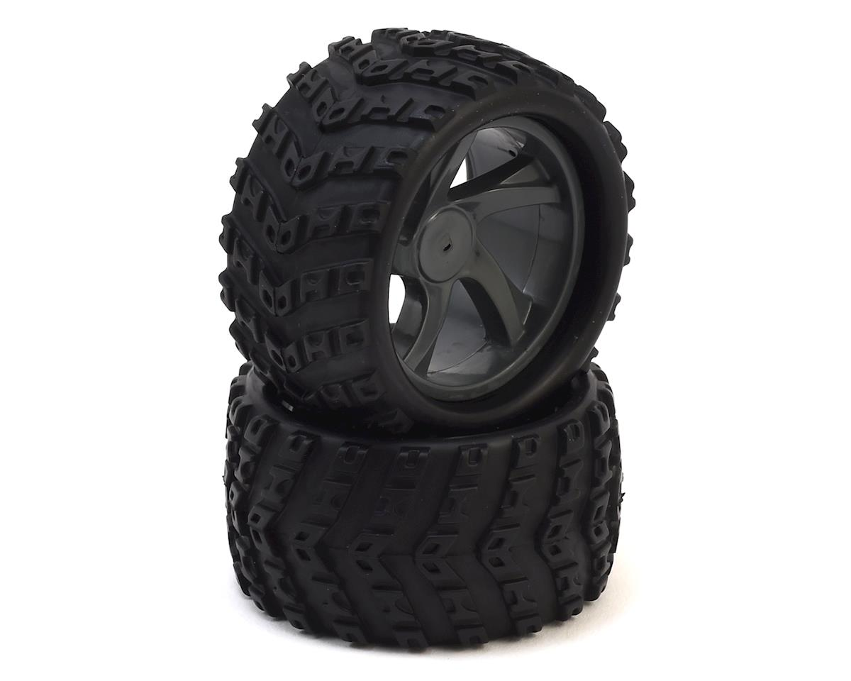 Maverick ION MT Pre-Mounted 1/18 Monster Truck Tires (2)