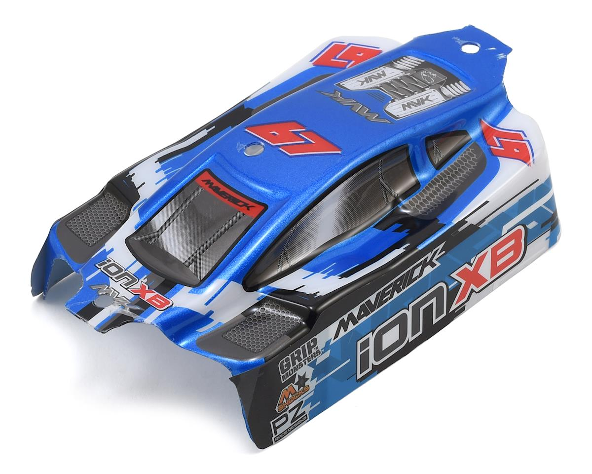 Maverick ION XB Pre-Painted Buggy Body (Blue)