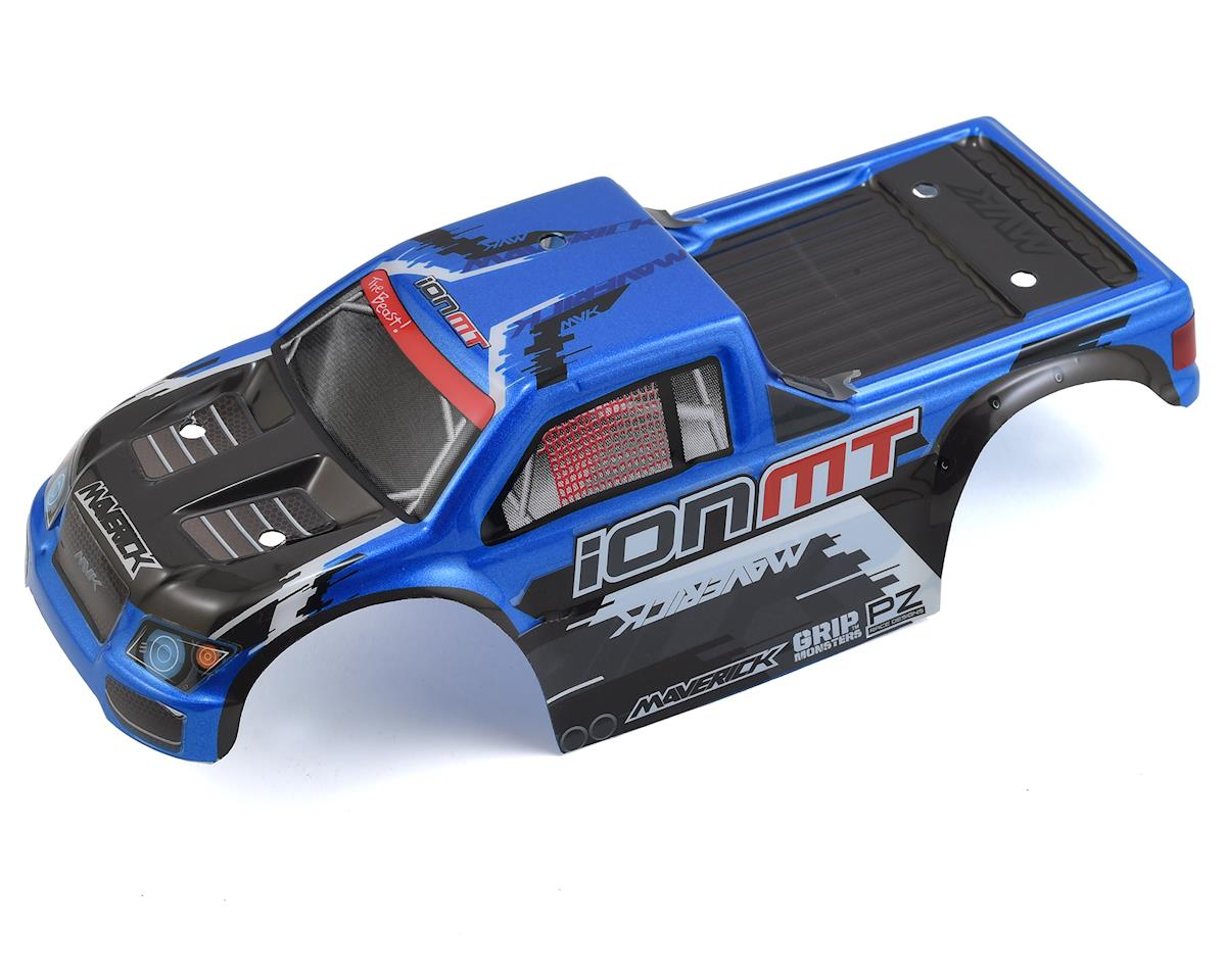 Maverick ION MT Painted Monster Truck Body (Blue)