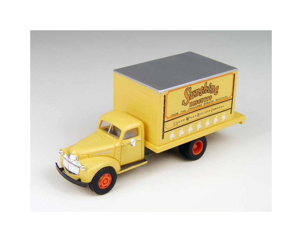 Classic Metal Works HO 1941-1946 Chevrolet Box Truck, Sunshine Bakery
