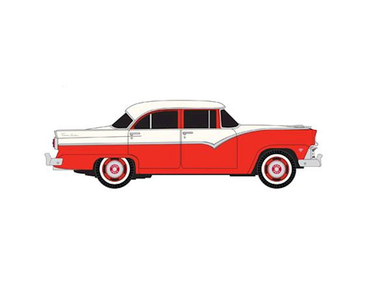 HO 1955 Ford Fairlane, Torch Red Two-Tone