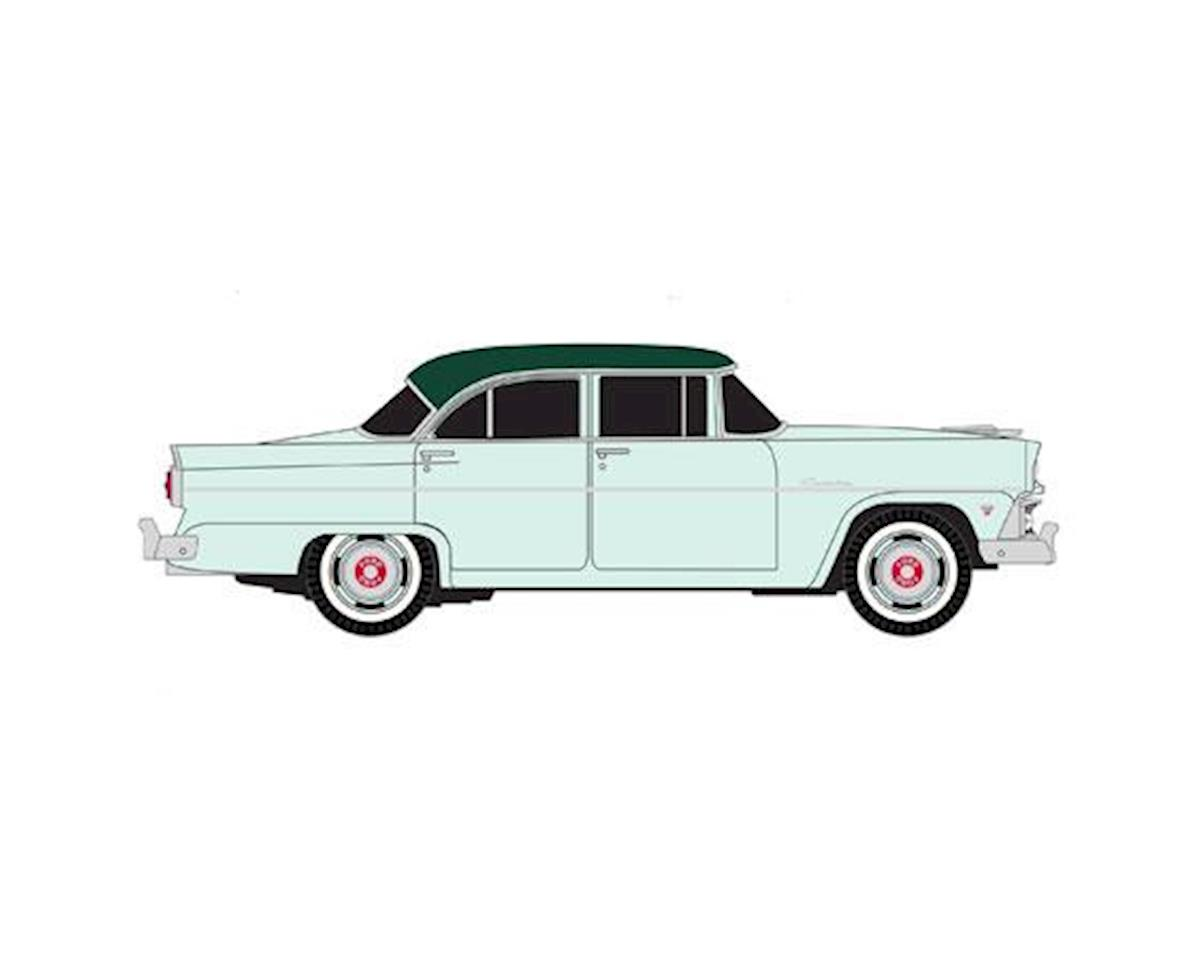 HO 1955 Ford Customline Sedan, Neptune Green