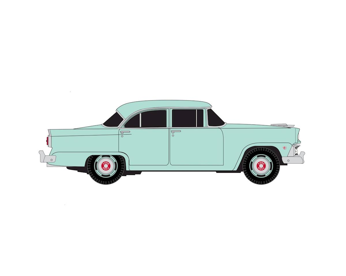 HO 1955 Ford Mainline Sedan, Seahaze Green by Classic Metal Works