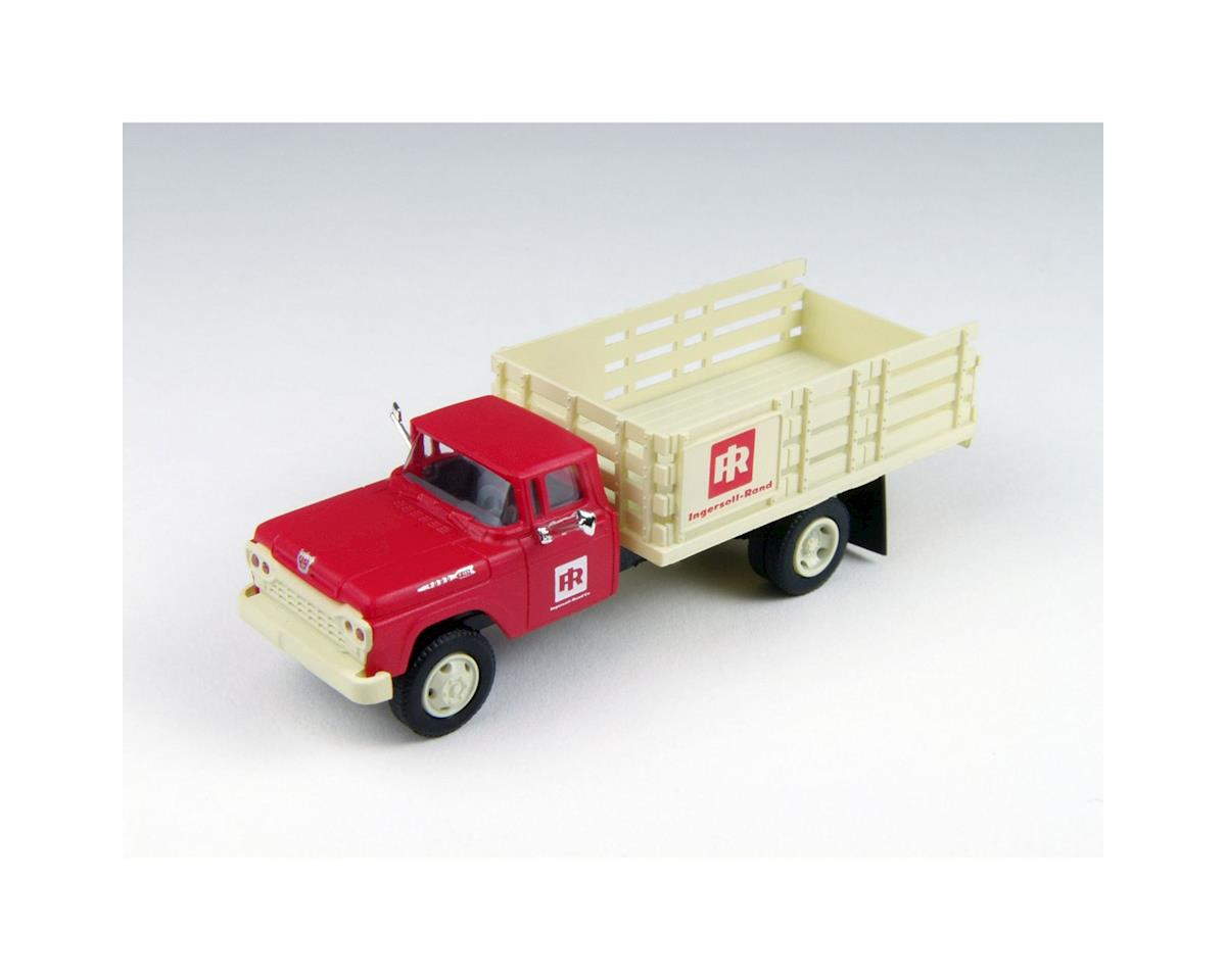 Classic Metal Works HO 1960 Ford F-500 Stake Bed Truck, Ingersoll-Rand