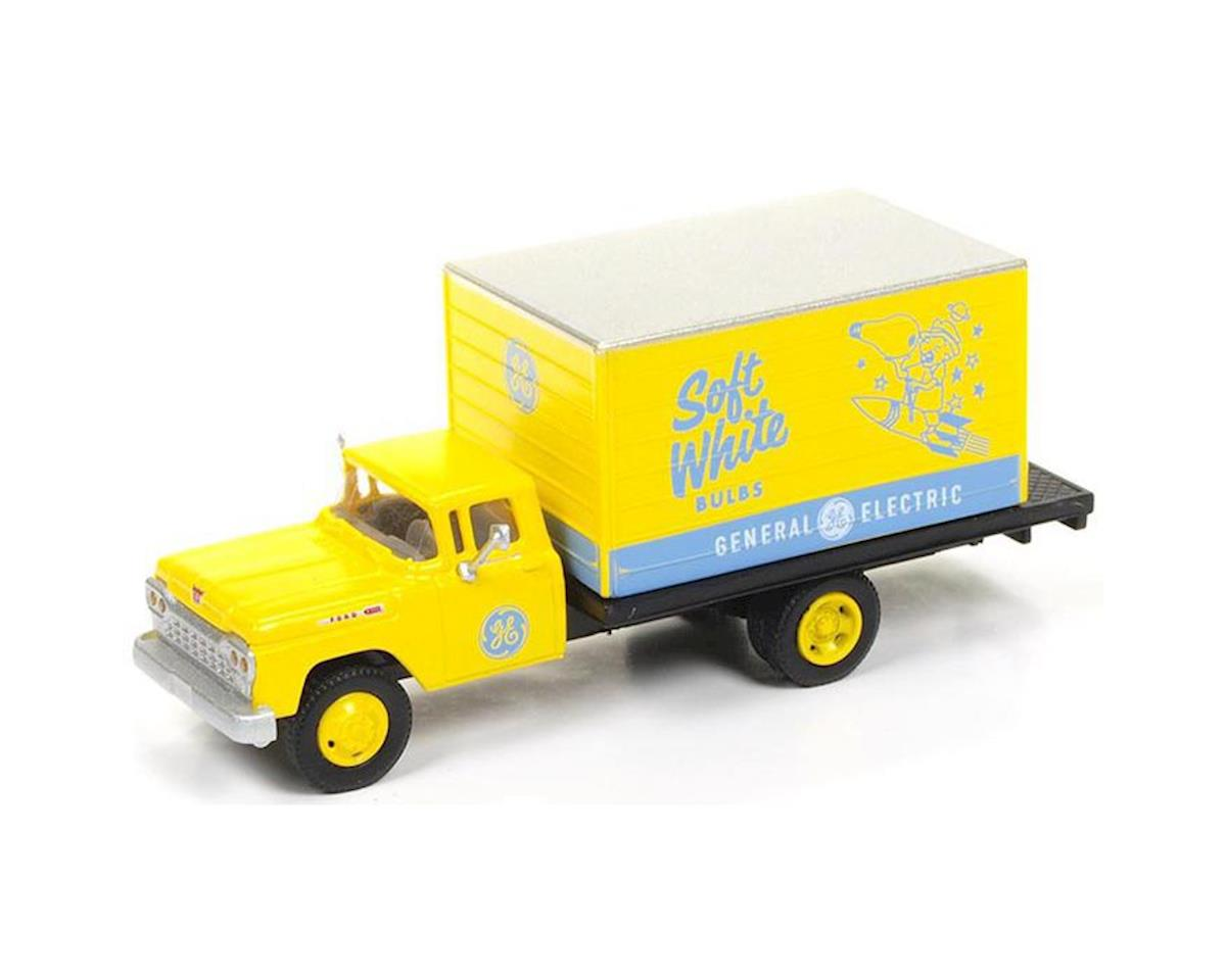 Classic Metal Works HO 1960 Ford Delivery Box Truck, GE Lamps