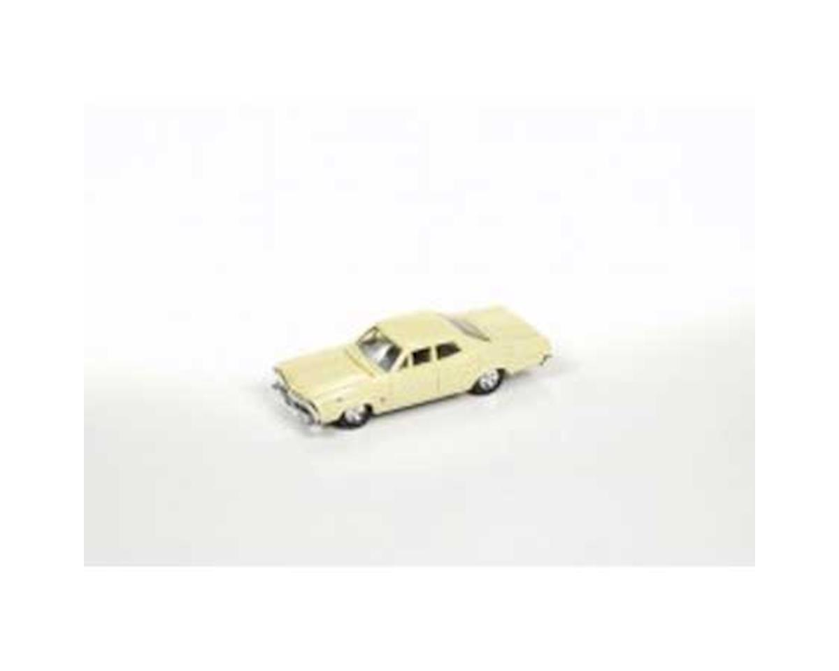 HO 1967 Ford 500 Sedan, Springtime Yellow by Classic Metal Works