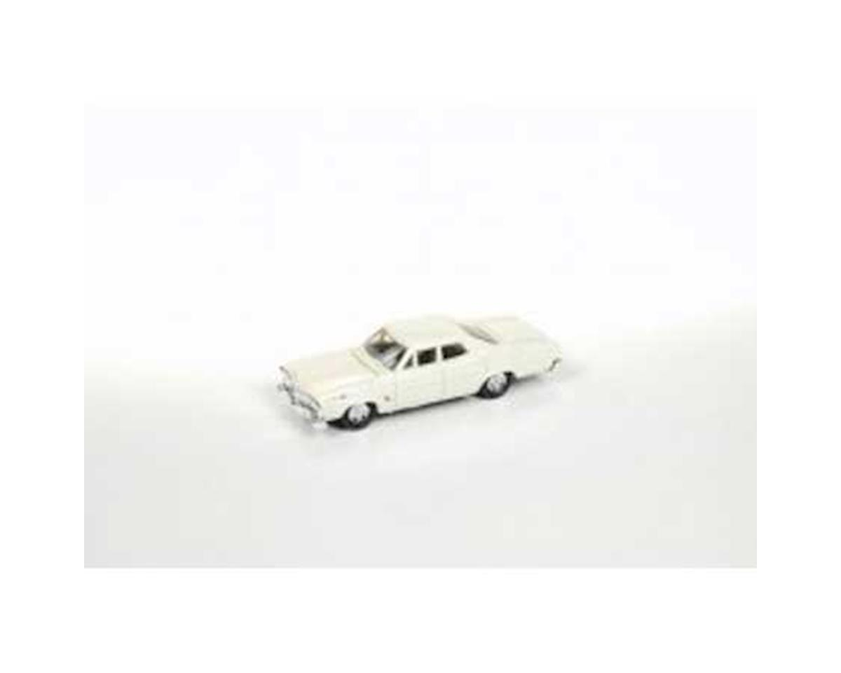 Classic Metal Works HO 1967 Ford 500 Sedan, Wimbledon White