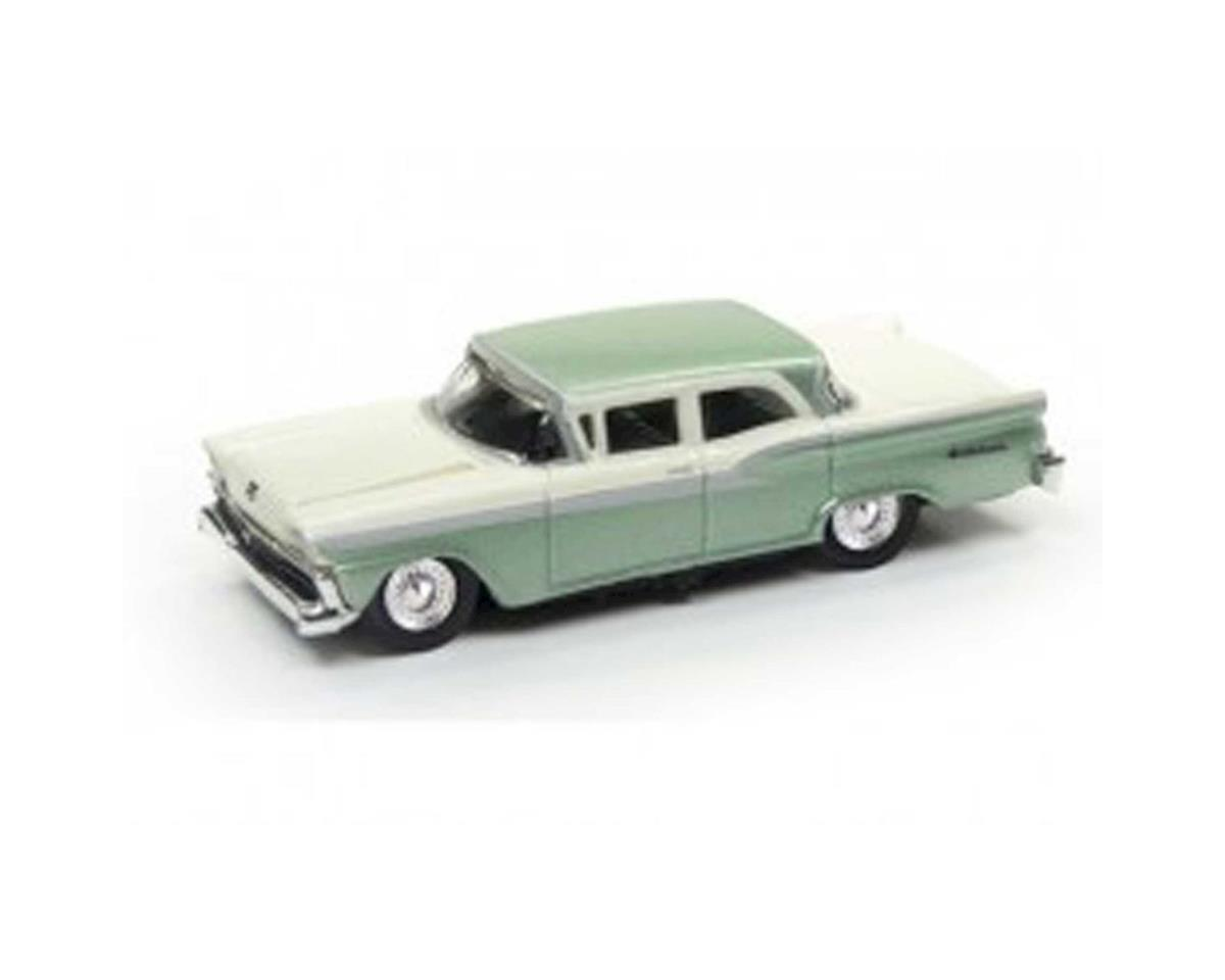 Classic Metal Works HO 1959 Ford Fairlane, Sagebrush Green Metallic