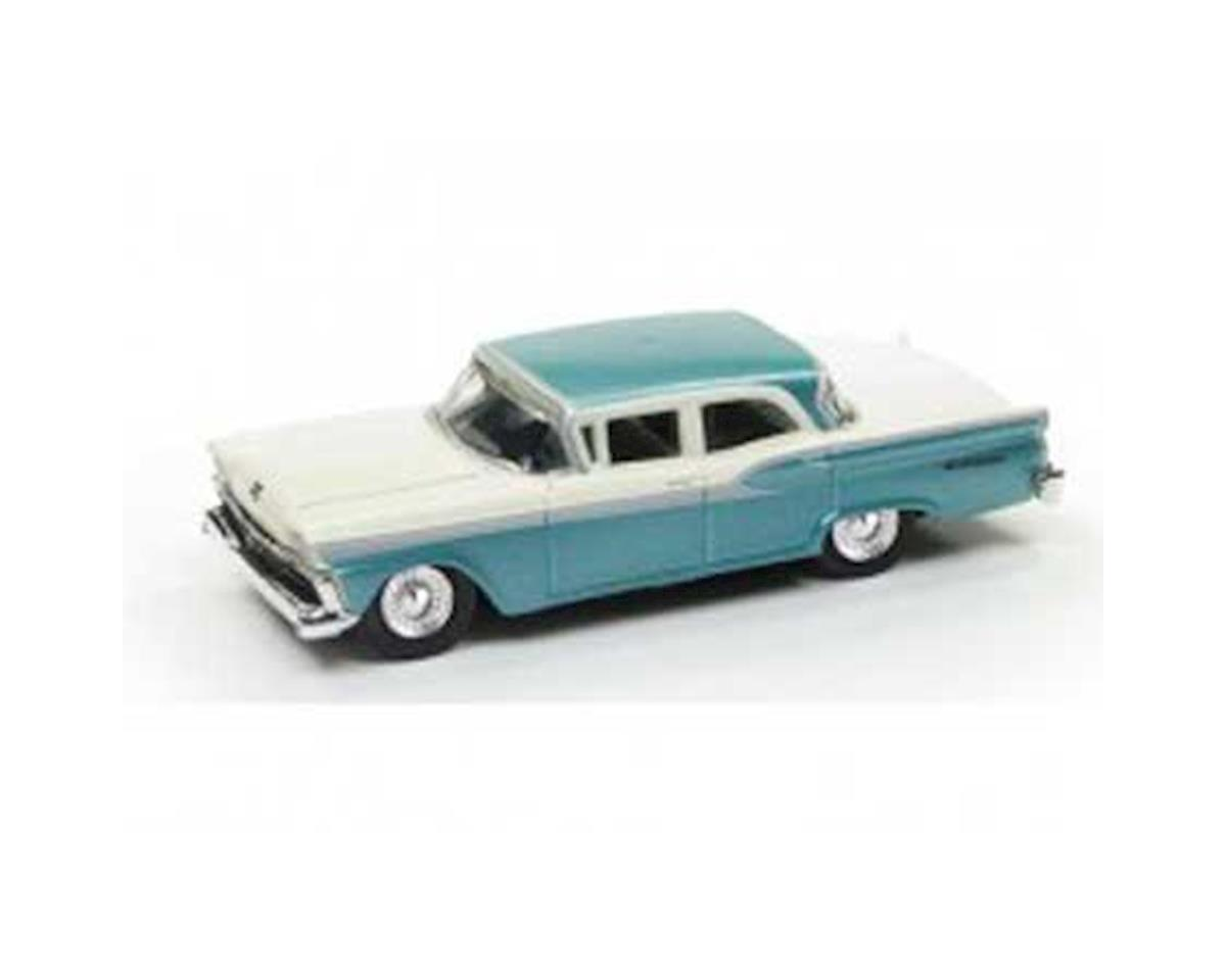 Classic Metal Works HO 1959 Ford Fairlane, Sapphire Metallic