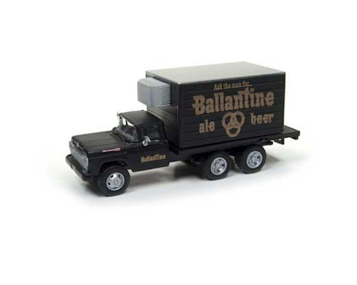 Classic Metal Works HO 1960 Ford Reefer Box Truck, Ballantine Beer