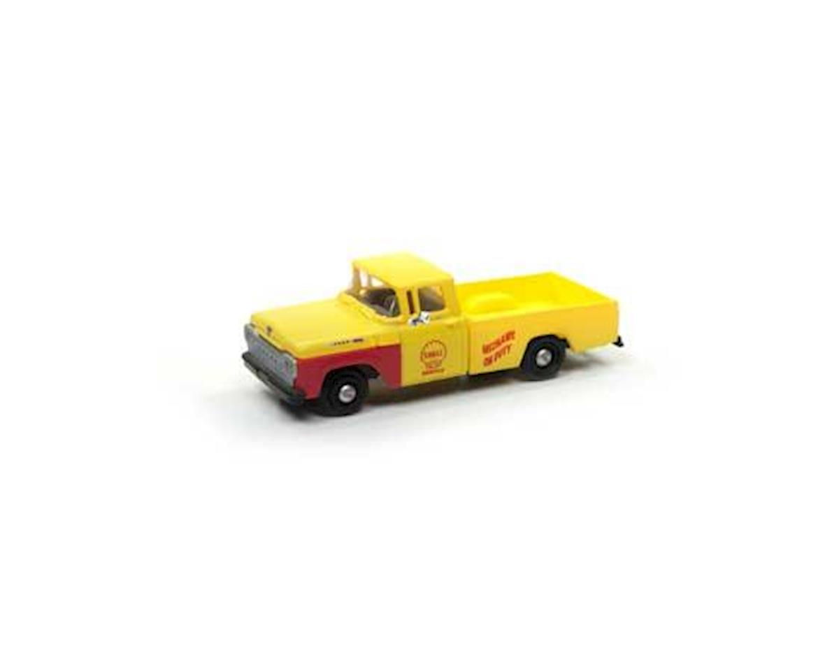 Classic Metal Works HO 1960 Ford F-100 Pickup, Shell Oil Service