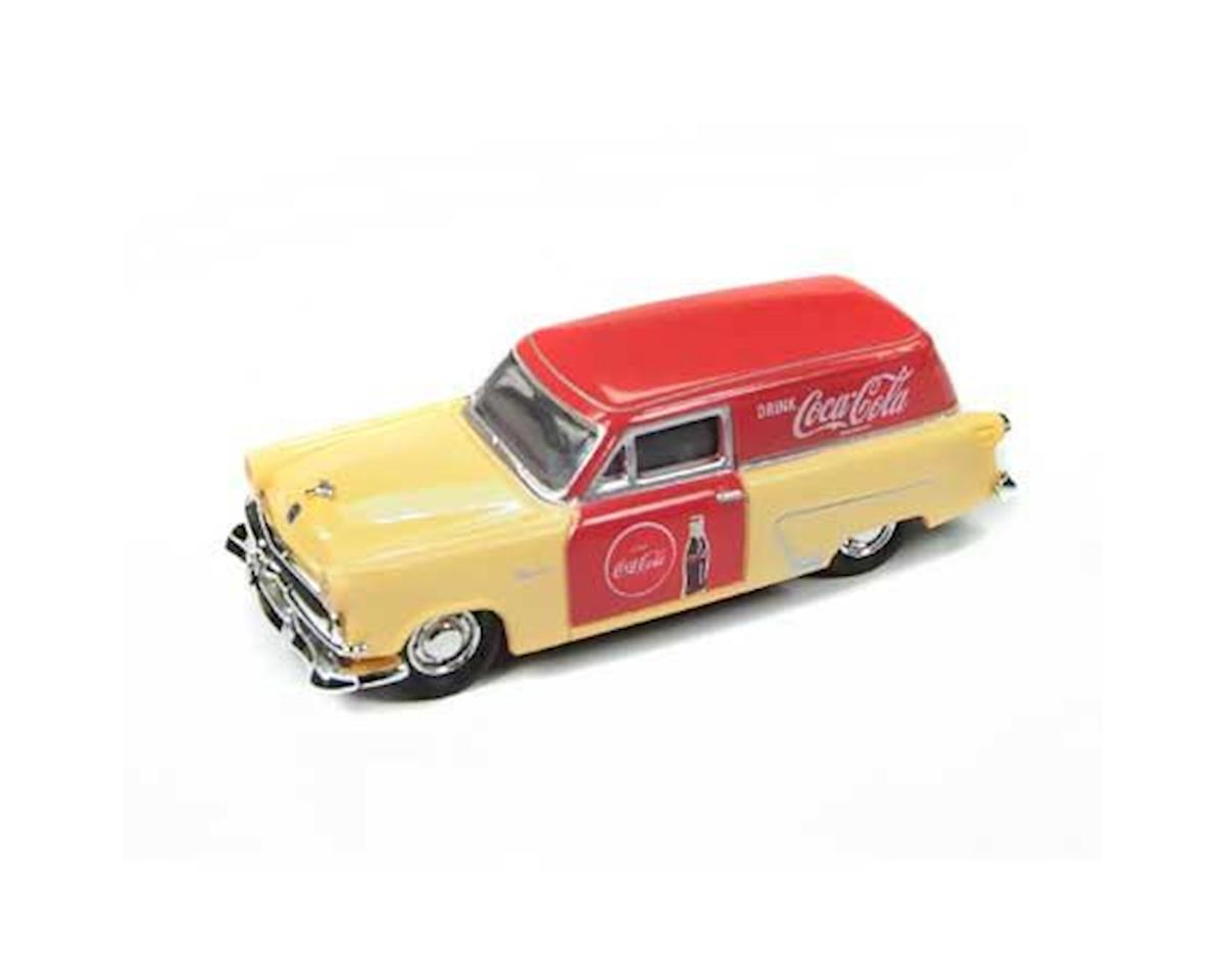 Classic Metal Works HO 1953 Ford Delivery Truck,Coca-Cola Salesman Car
