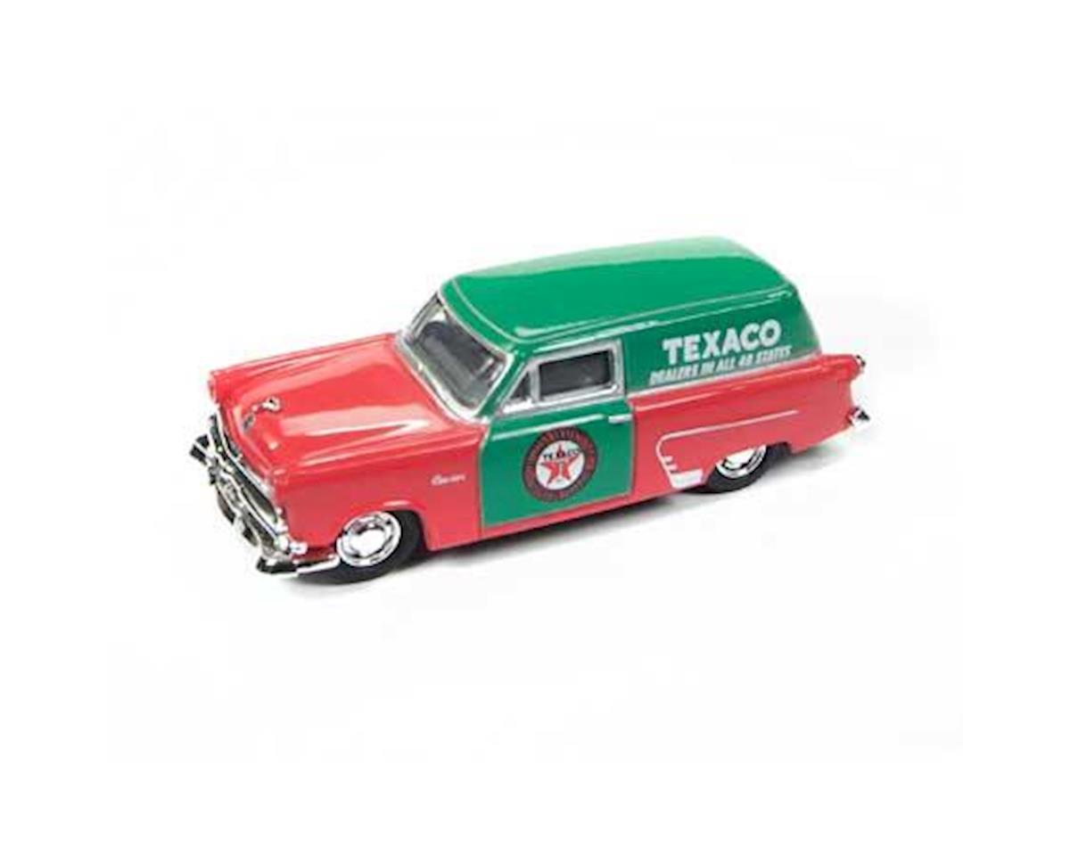 HO 1953 Ford Delivery Truck, Texaco Salesman Car