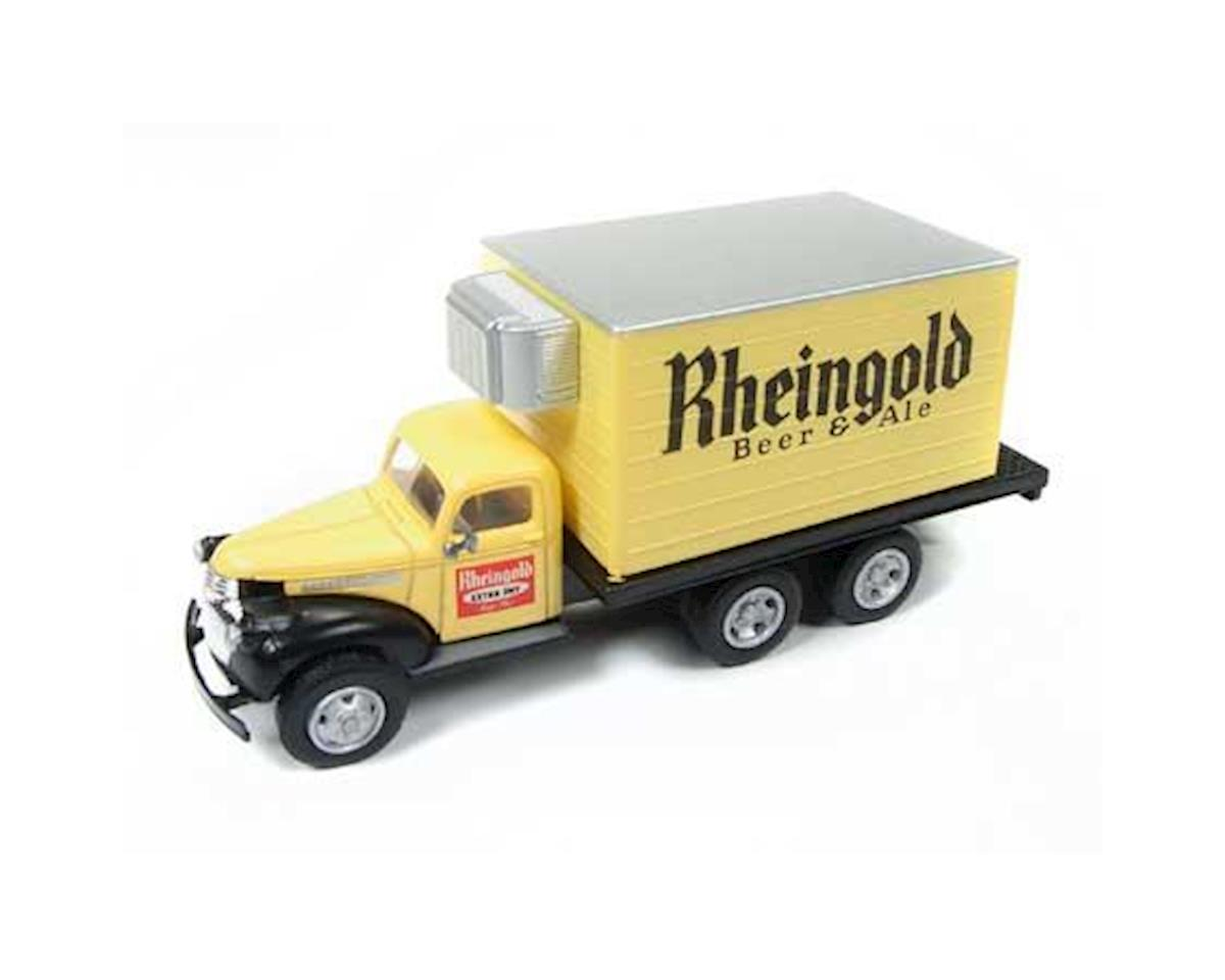 Classic Metal Works HO 1941-1946 Chevy Reefer Box Truck,Rhiengold Beer