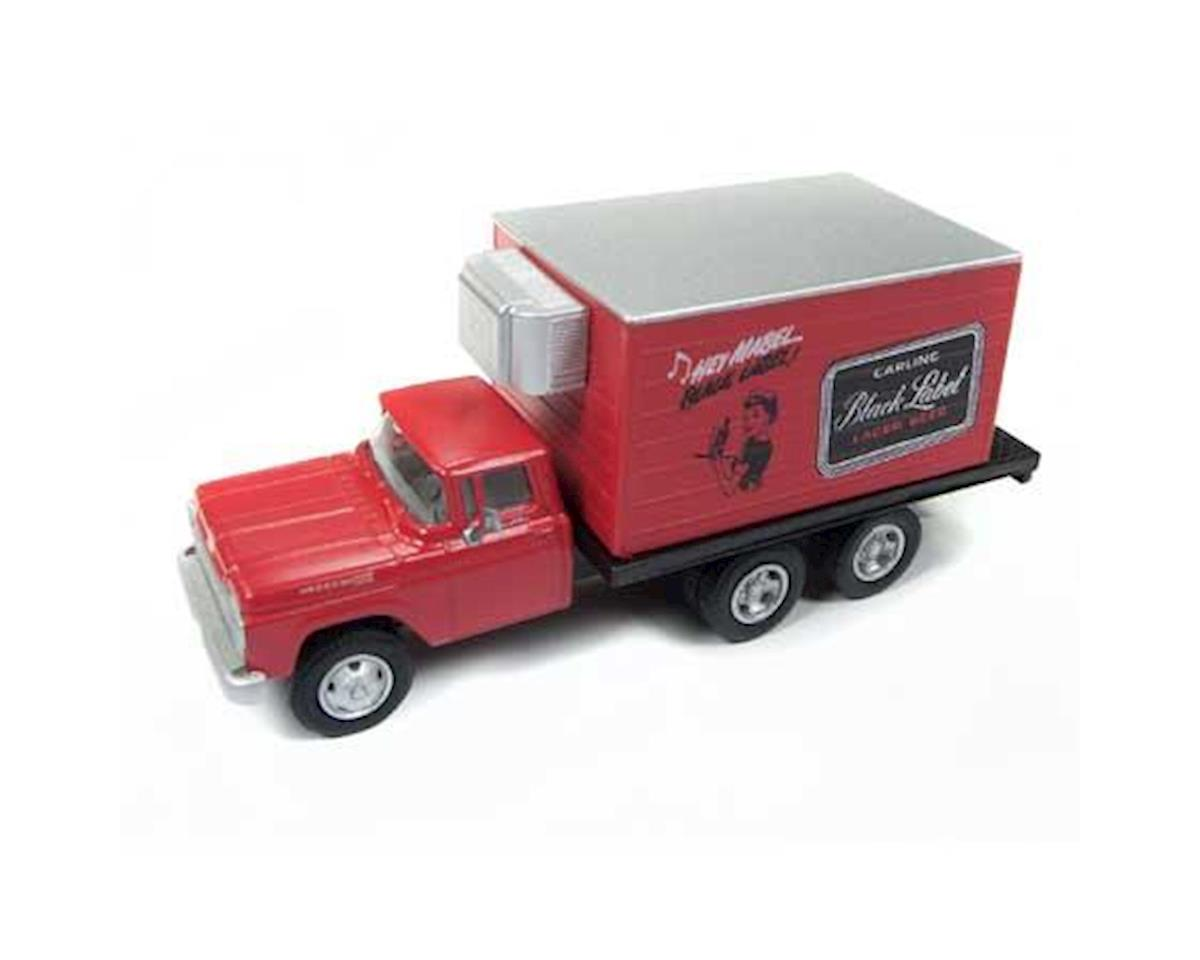 HO 1954 Ford Reefer Box Truck, Carling Beer