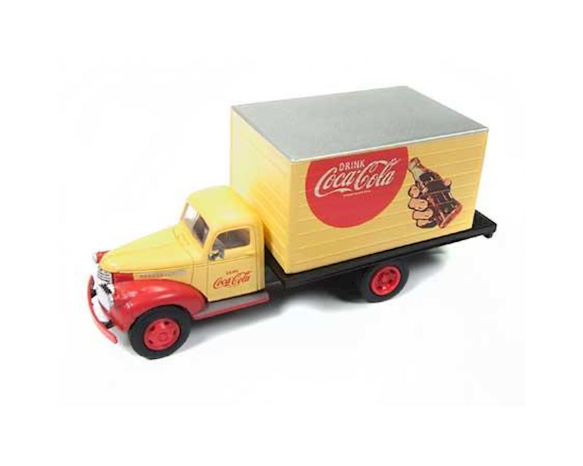 Classic Metal Works HO 1941-1946 Chevy Box Truck, Coca Cola