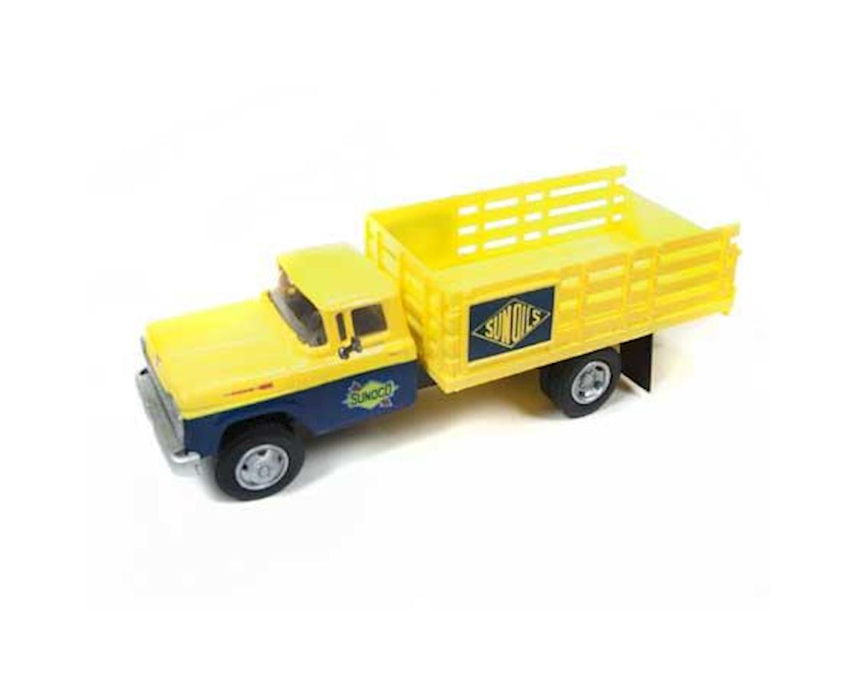 Classic Metal Works HO 1960 Ford Box Truck, SUNOCO