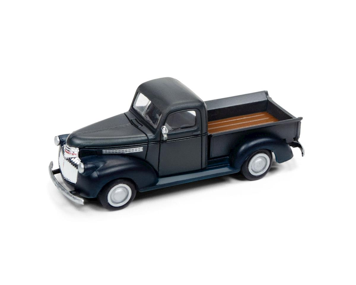 Classic Metal Works HO 1941-1946 Chevrolet Pickup, Grey/Blue