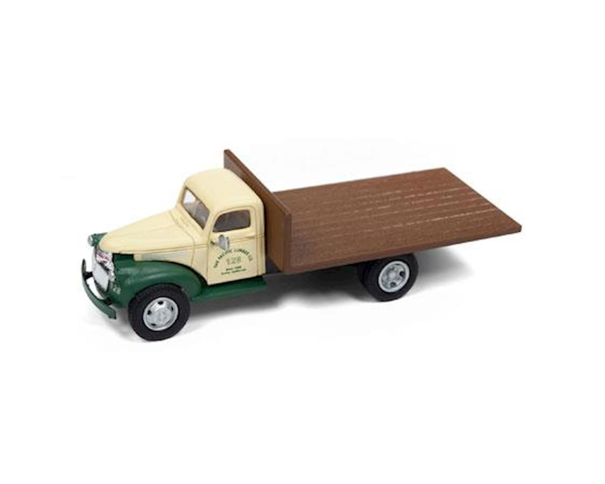 Classic Metal Works HO 1941-1946 Chevrolet Pickup, Pacific Lumber Co