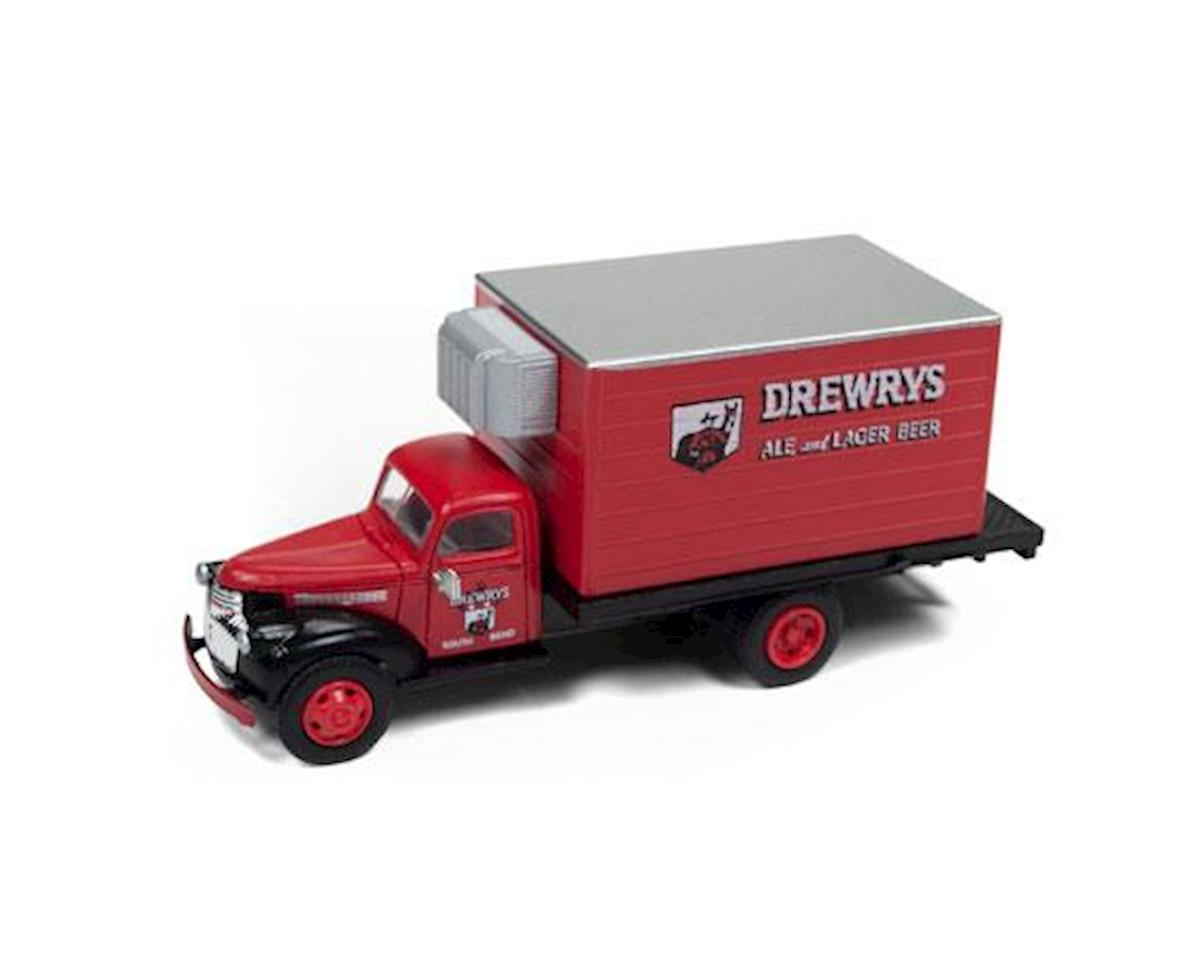 Classic Metal Works HO 1941-1946 Chevrolet Reefer Truck, Drewrys Beer