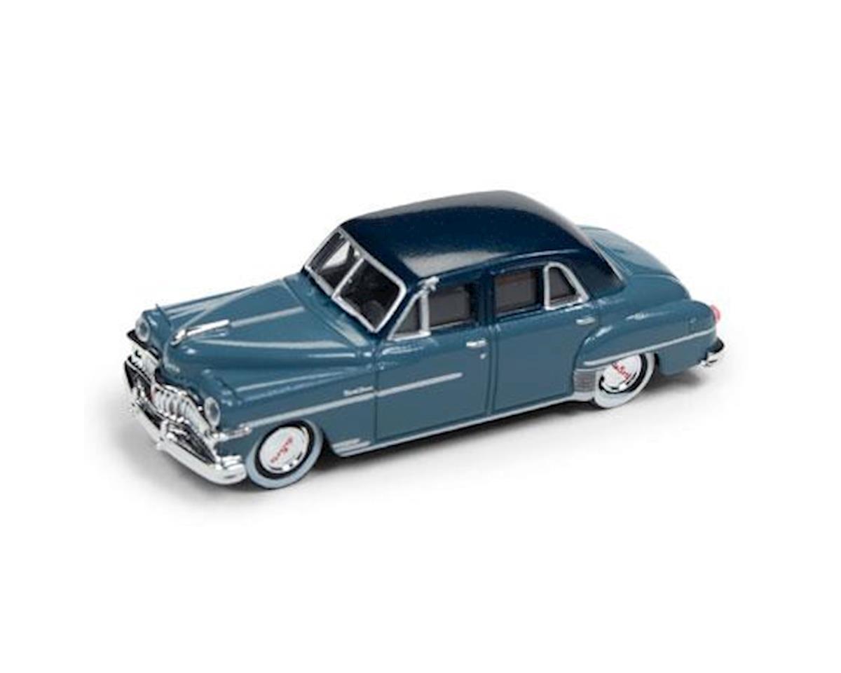 Classic Metal Works HO 1950 DeSoto Sedan, Blue 2 Tone