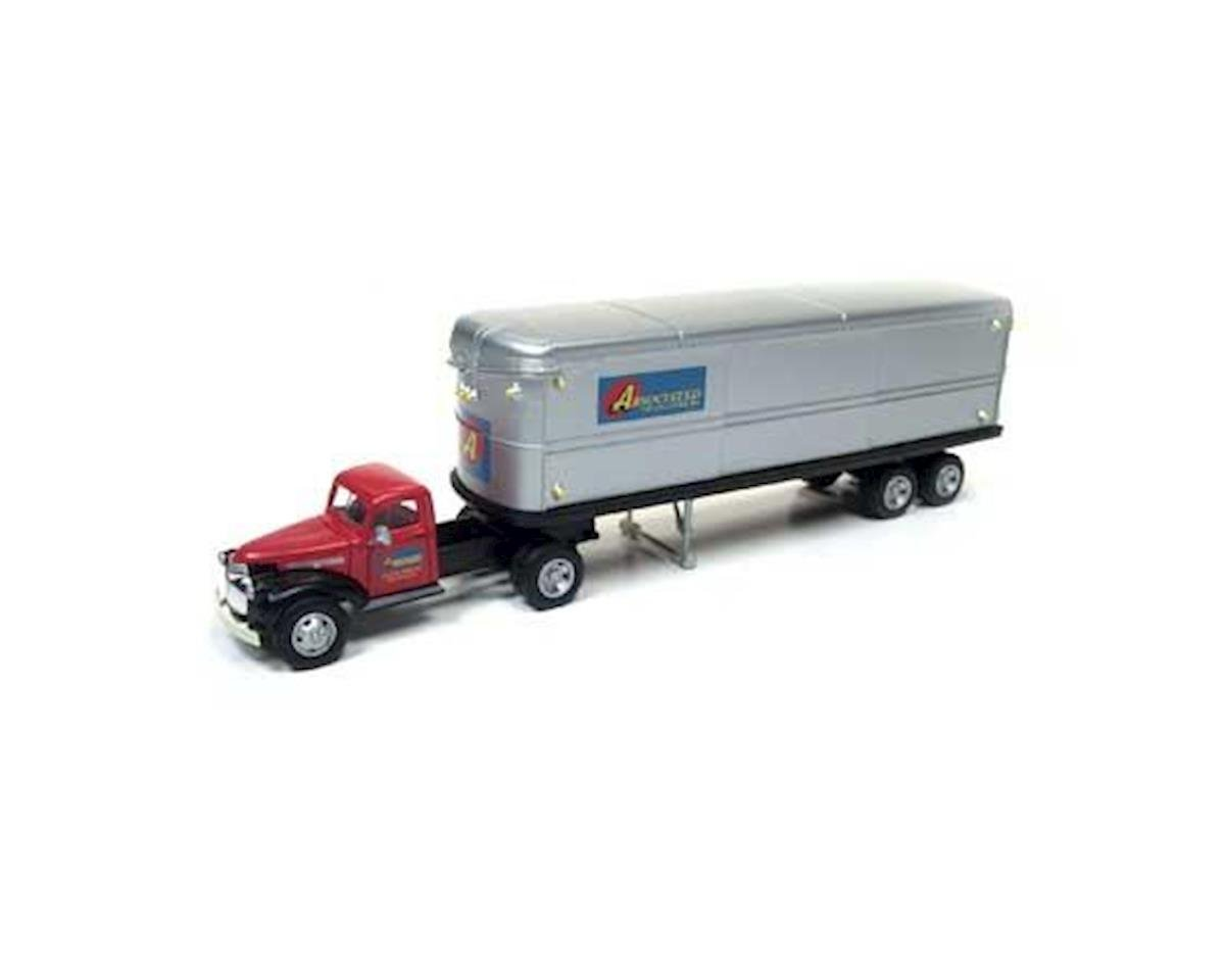 Classic Metal Works HO 1944-46 Chevy Tractor/Trailer, Associated Truck
