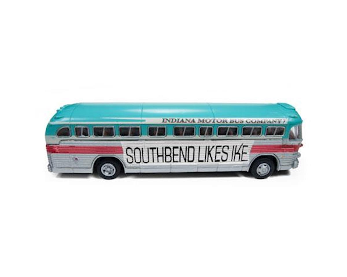 Classic Metal Works HO PD4103 Intercity Bus, Eisenhower Campaign