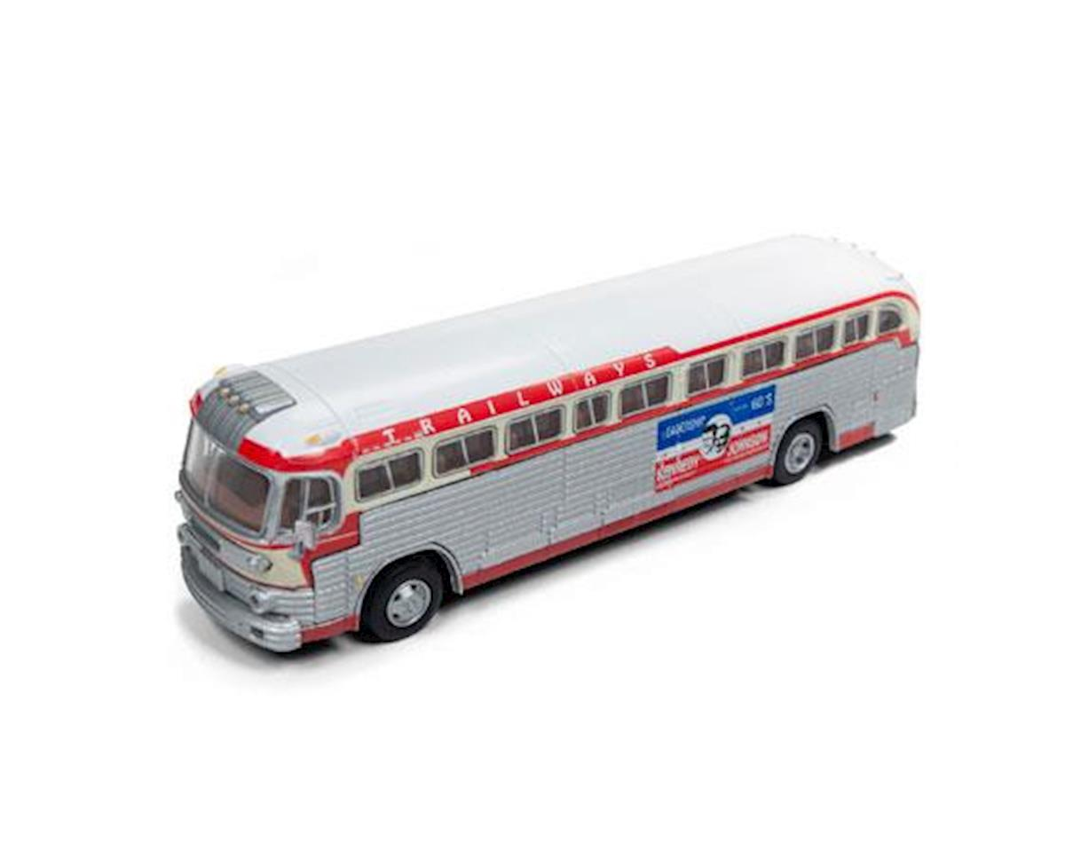 Classic Metal Works HO PD4103 Intercity Bus, Kennedy Campaign