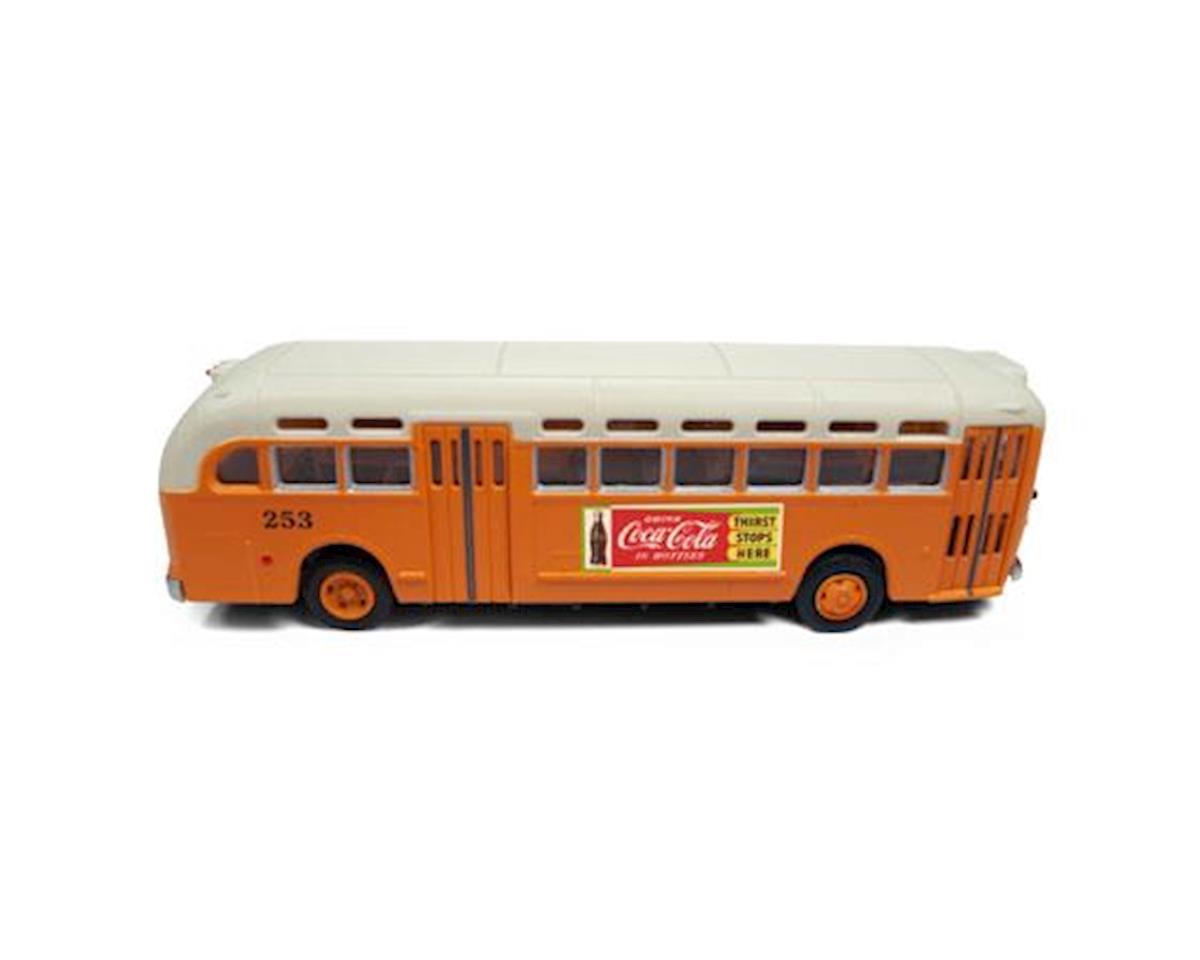Classic Metal Works HO PD4103 Intercity Bus, Atlanta/Coca-Cola