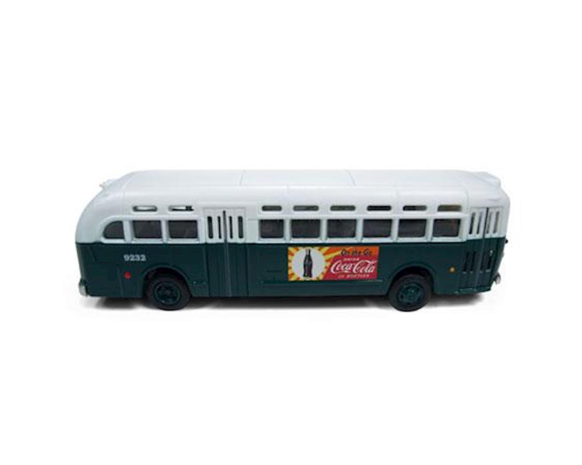 Classic Metal Works HO PD4103 Intercity Bus, Chicago/Coca-Cola